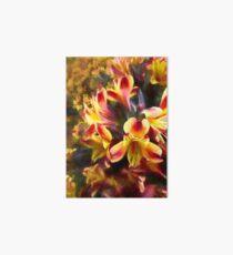 Flower art - Alstroemeria Art Board