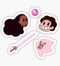 Steven, Connie and Lion sticker set Sticker