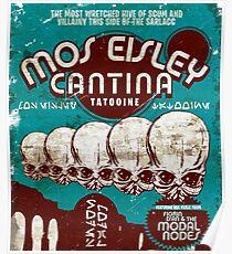 Cantina Sign Poster