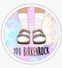 You Birkenrock -pastel  Sticker