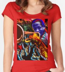 CLIFFORD Women's Fitted Scoop T-Shirt
