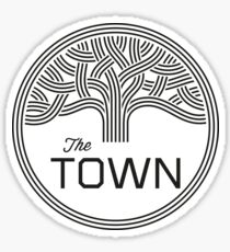 The Town Sticker