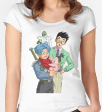 Trunks Gohan and Piccolo Women's Fitted Scoop T-Shirt