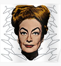 Joan Crawford- No Wire Hangers! Poster
