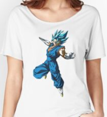 Vegetto God Blue Women's Relaxed Fit T-Shirt