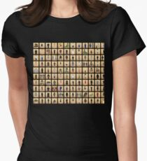 Buffy Mini Monsters Series Women's Fitted T-Shirt