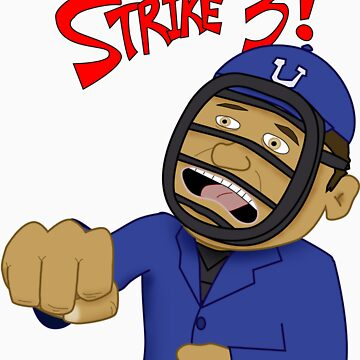 Strike Three!  (T-Shirt) by DeadFish