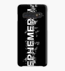 "Word ""Ephemeral"" in a minimal design Case/Skin for Samsung Galaxy"