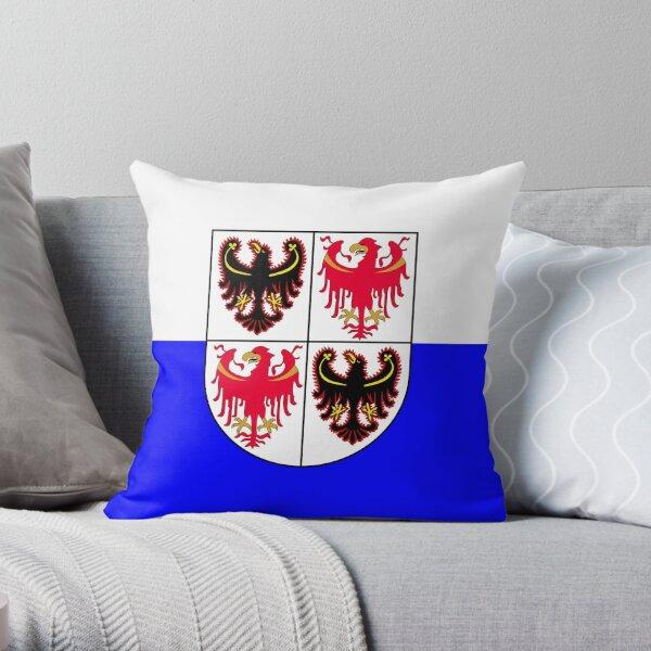 Flag of Trentino South Tyrol Throw Pillow