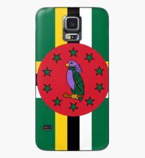 Dominica Flag Case/Skin for Samsung Galaxy