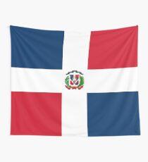 Dominikanische Republik Flagge Wandbehang