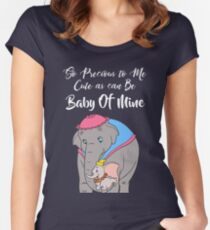 Baby Mine Women's Fitted Scoop T-Shirt