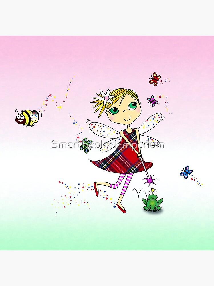 Cute Fairy Cartoon - Little Girls Dream by FionaHolt