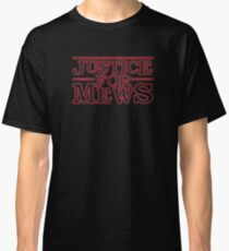 Justice for Mews Red Glow Graphics Classic T-Shirt
