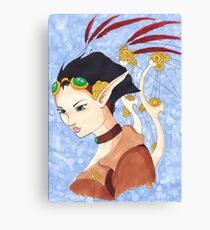 SteamPunk Farie Canvas Print