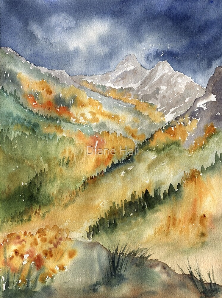 Ruby Mountains, Nevada by Diane Hall