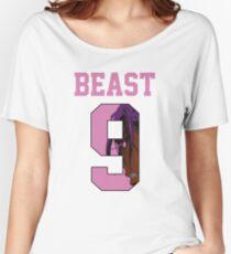Kuroko no Basket Murasakibara Atsushi Beast Nr 9 Jersey Women's Relaxed Fit T-Shirt
