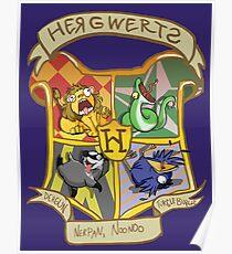 ERMAHGERD! HERGWERTS! Poster