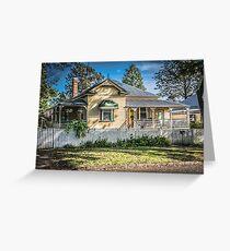 Australian Homes - Queenslander Greeting Card