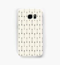 Cream and Black Tribal Arrow Samsung Galaxy Case/Skin