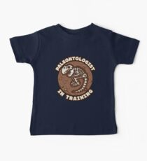 Paleontologist In Training Baby Tee