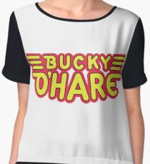 Captain Bucky O'Hare Chiffon Top