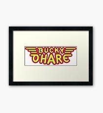 Captain Bucky O'Hare Framed Print