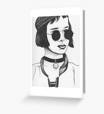 Mathilda From Leon The Professional Greeting Card