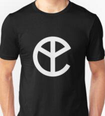 Gelbe Klaue Unisex T-Shirt
