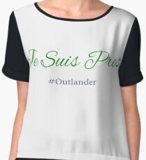 Je Suis Prest Design Outlander Women's Chiffon Top