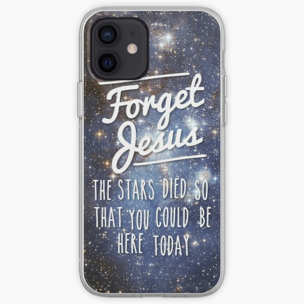 Forget Jesus iPhone Soft Case
