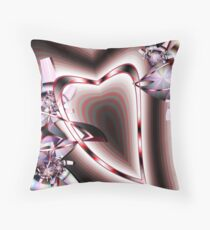 Hearts in Motion Throw Pillow