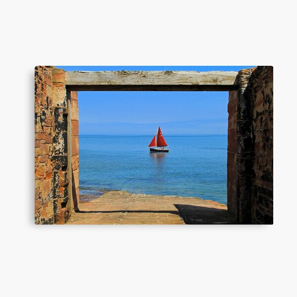 Abandoned Lifeboat Station Slipway Yacht Canvas Print