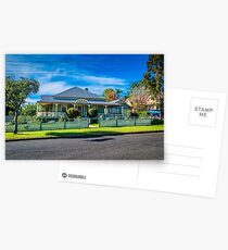 Queenslander style of home Postcards