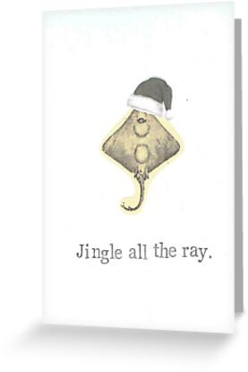 Jingle All The Ray by bluespecsstudio
