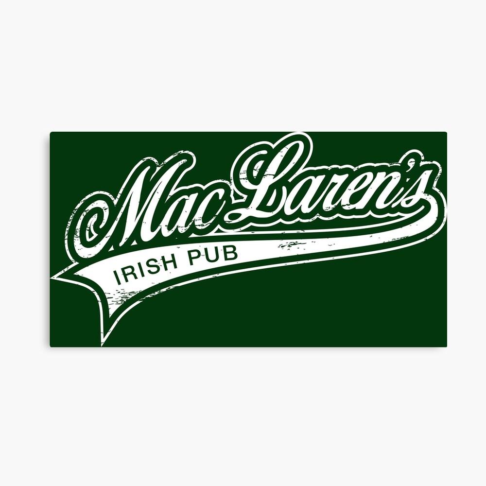 MacLaren's Pub Leinwanddruck