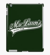MacLaren's Pub iPad-Hülle & Klebefolie