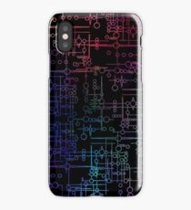 Multi Coloured Kree Symbols iPhone Case/Skin