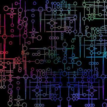 Multi Coloured Kree Symbols by believeluna