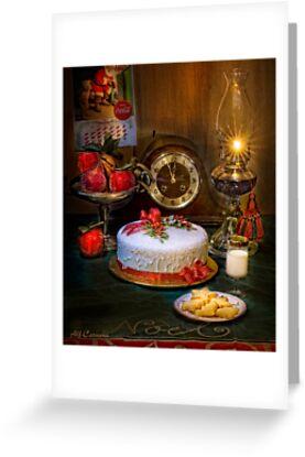 Santa's Cookies by Alf Caruana