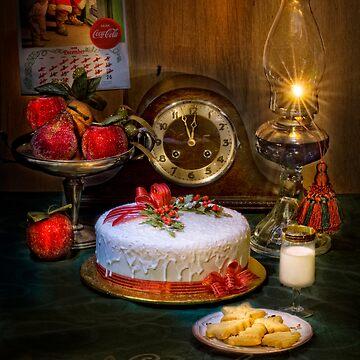 Santa's Cookies by utherpen