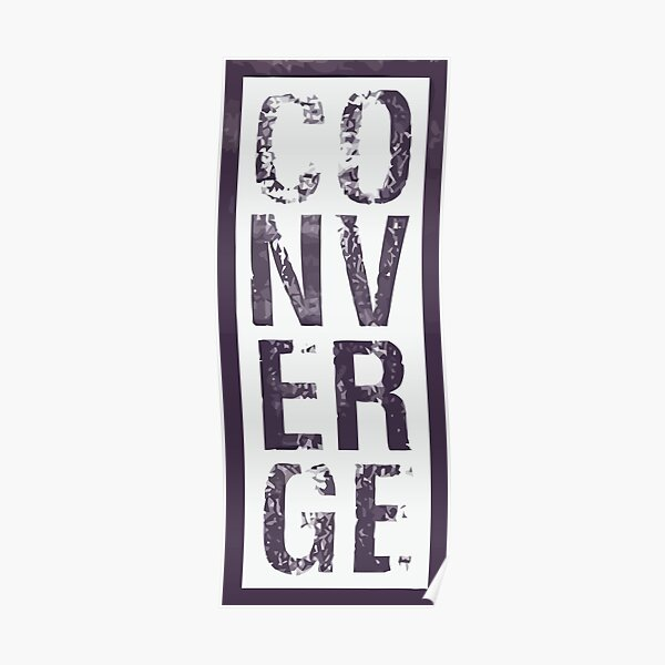 Converge Vertical Poster