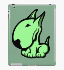 Odie English Bull Terrier Pale Green  iPad Case/Skin