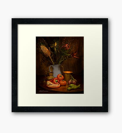 Old Masters Series (Print 8) Framed Print