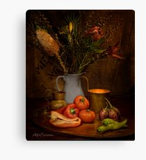 Old Masters Series (Print 8) Canvas Print