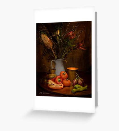 Old Masters Series (Print 8) Greeting Card