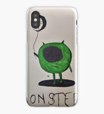 Creepy mike wasowski  iPhone Case/Skin