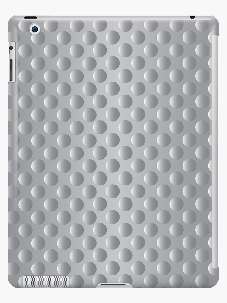 Bumpy textured silver metal pattern by i3Design