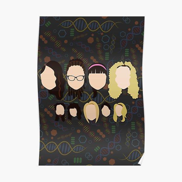 Sestras of Orphan Black Poster
