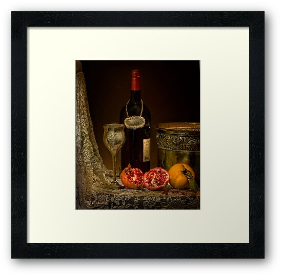 old masters series (print 1) by Alf Caruana